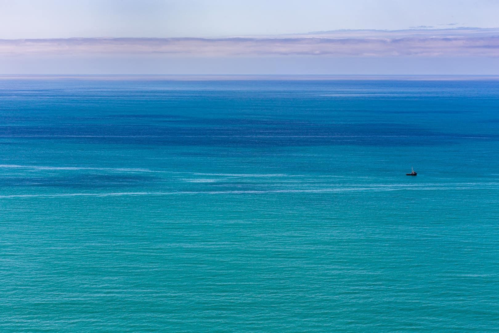 Trawler, Lost Coast, Mendocino, March 2016