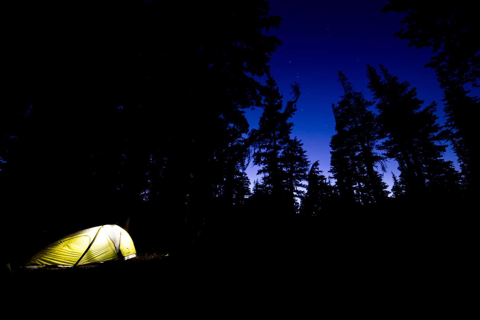 Camp, Desolation Wilderness, August 2017
