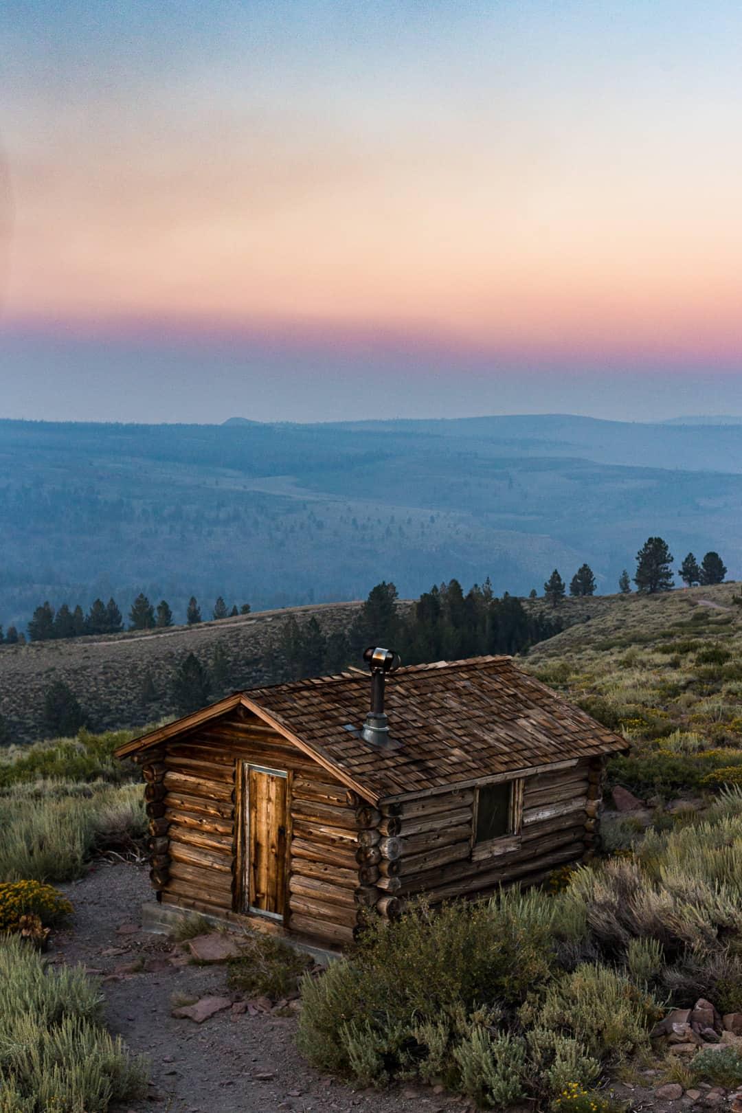 Cabin, Eastern Sierra, August 2018